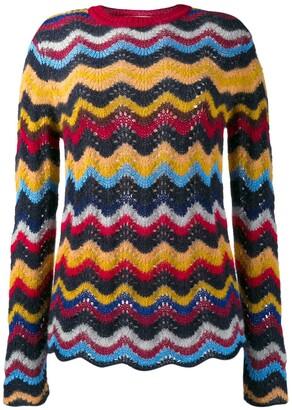 Marni Wave Knit Sweater