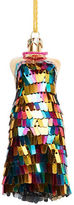 Lord & Taylor Sequined Dress Ornament