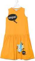 Fendi teen sleeveless printed dress - kids - Cotton/Spandex/Elastane - 14 yrs