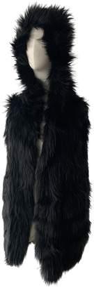 Meteo Black Raccoon Jacket for Women
