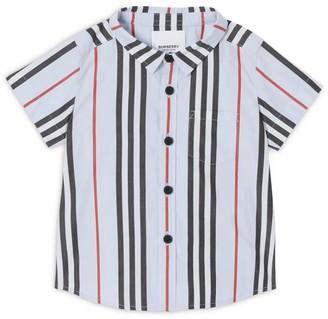 Burberry Kids Icon Stripe Poplin Shirt
