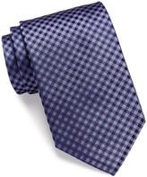 HUGO BOSS Silk Mini Check Tie