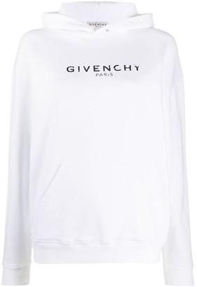 Givenchy Logo Print Hoodie