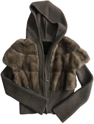 Giuliana Teso Anthracite Mink Jacket for Women