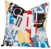 Crayola Dream On 20-Inch Square Throw Pillow
