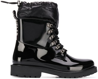 Moncler Galaxite padded-panel ankle boots