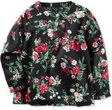 Carter's Floral-Print Top, Little Girls (2-6X)