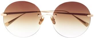 EQUE.M Circle Frame Sunglasses