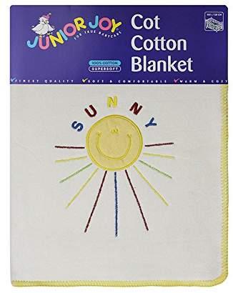 Junior Joy Cot Cotton Blanket Sun