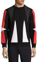 Neil Barrett Abstract Printed Sweatshirt