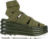 Salvatore Ferragamo Origami platform sandals