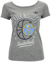 adidas Women's Denver Nuggets Basketball Scoop T-Shirt