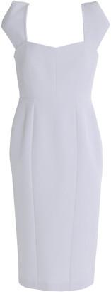 Safiyaa Paneled Cady Dress