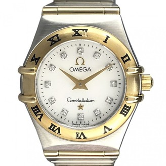 Omega Constellation White gold and steel Watches