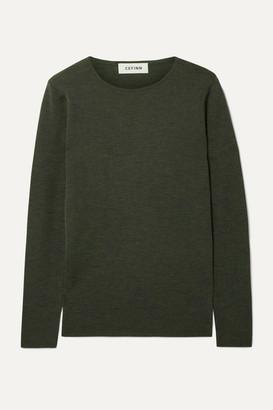 Melange Home Cefinn - Freda Wool Sweater - Army green