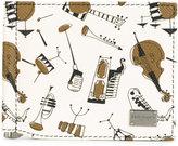 Dolce & Gabbana instrument print card holder - men - Calf Leather - One Size