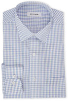 Pierre Cardin Blue Check Dress Shirt