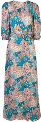 Dodo Bar Or floral print wrap dress