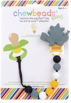 "Bed Bath & Beyond chewbeads® Dinosaur ""Where's the Pacifier?"" Clip"