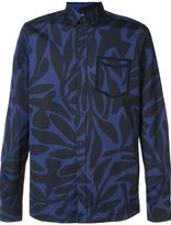 Oamc leaf print shirt - men - Cotton - M