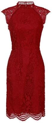 Chi Chi Crochet Bodycon Dress
