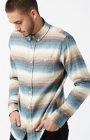 Ezekiel Steezy Striped Flannel Long Sleeve Button Up Shirt