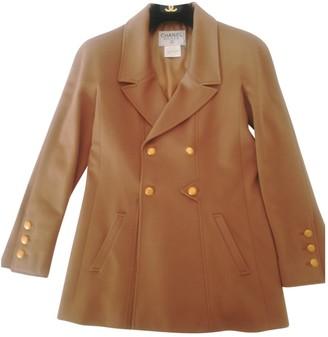 Chanel Camel Cashmere Coats