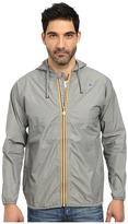 K-Way Claude Waterproof Heathered Jacket w/ Hood