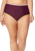 Jessica Simpson Plus Woodstock Solids High Waist Bottom