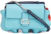 Fendi micro 'Double Baguette' crossbody bag - women - Acetate/Leather - One Size