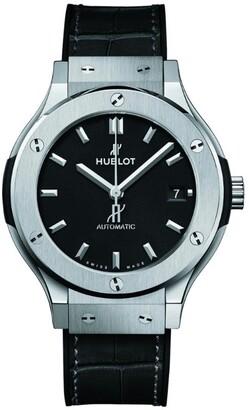 Hublot Titanium Classic Fusion Watch 38mm