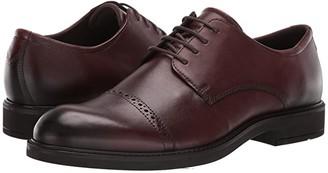 Ecco Vitrus III Cap Toe Tie (Black) Men's Shoes