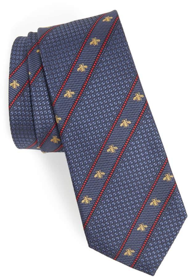 Gucci Stripe Silk Tie