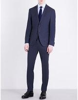 Hugo Boss Micro-check Slim-fit Suit