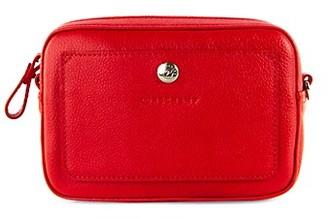 Longchamp Leather Convertible Crossbody Bag