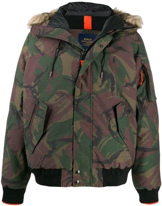 Polo Ralph Lauren feather down hooded parka