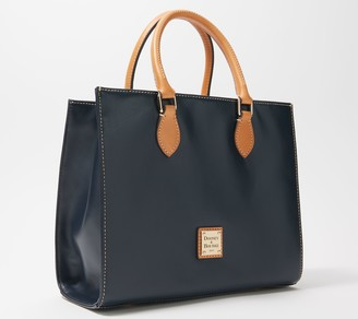 Dooney & Bourke Smooth Leather Janine Tote