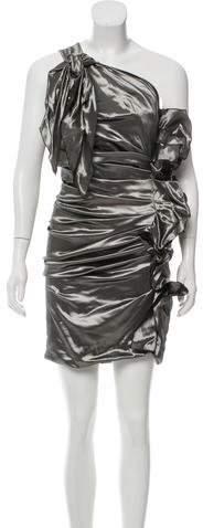 Isabel Marant One-Shoulder Brocade Dress w/ Tags