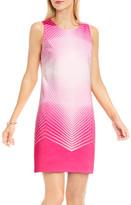 Vince Camuto Optic Print Shift Dress