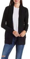 Charlotte Russe Open Front Cardigan Sweater