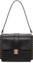 Valentino Black Rockstud Boxy Trunk Bag
