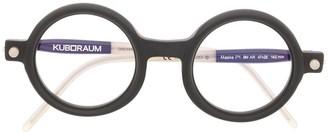 Kuboraum P1 round frame glasses