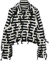 Loewe striped chunky knit