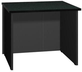 Ironwood Modular Reversible Desk Shell Color: Black Granite / Black