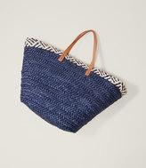 LOFT Beach Straw Bag