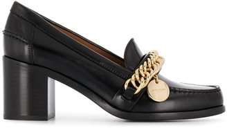 Givenchy chunky high-heeled loafers
