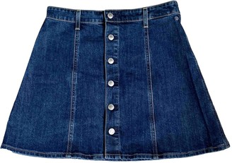ALEXACHUNG Alexa Chung Blue Denim - Jeans Skirt for Women