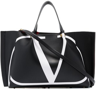 Valentino Garavani VLOGO leather tote