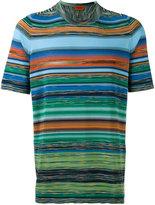 Missoni blurry stripes print T-shirt