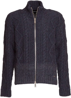 DSQUARED2 Cable Knit Cardigan